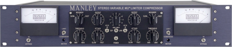 View larger image of Manley Variable Mu Stereo Limiter Compressor