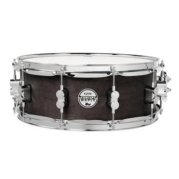 View larger image of Concept Maple Snare Drum - 6.5x14, Black Wax, Chrome