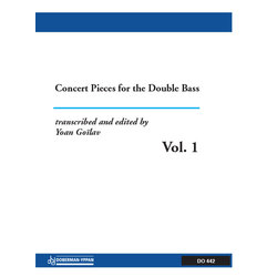 Concert Pieces For The Double Bass Vol.1 - Contrebasse