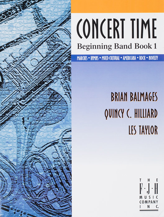 View larger image of Concert Time Beginning Band Book 1 - Bells