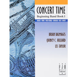 Concert Time Beginning Band Book 1 - Percussion
