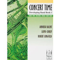 Concert Time Developing Band Book 1 - Tenor Sax