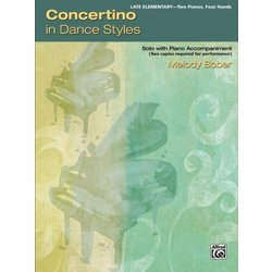 Concertino in Dance Styles (2P4H)