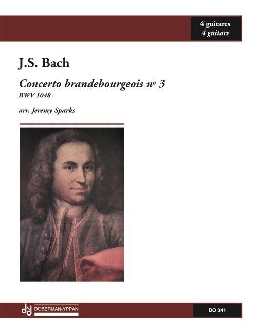 View larger image of Concerto Brandebourgeois, No.3, BWV 1048 (Bach) (Guitar Quartet)