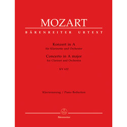 Concerto for Clarinet and Orchestra in A major K.622 - (Mozart)