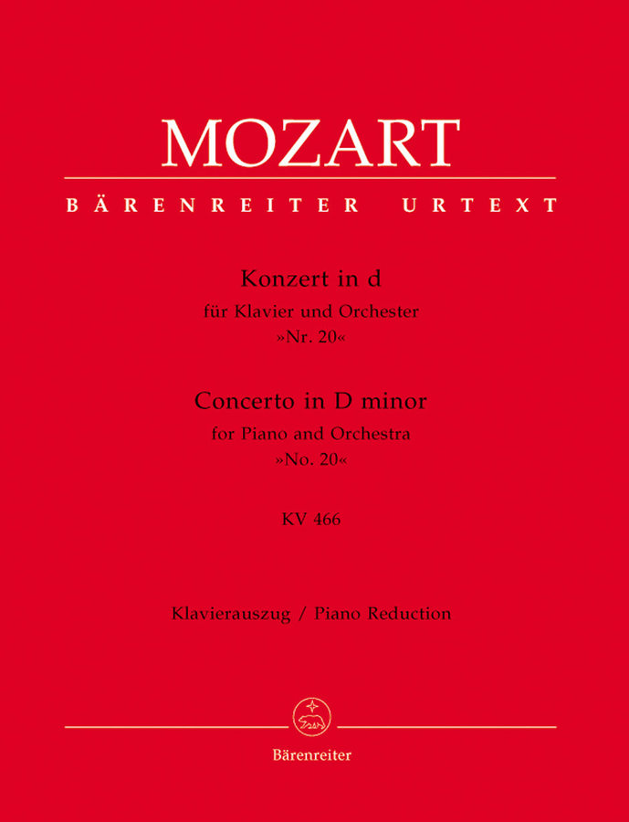 View larger image of Concerto for Piano and Orchestra no.20 in D minor K.466 - (Mozart)