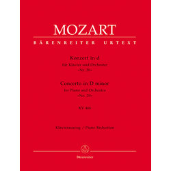 Concerto for Piano and Orchestra no.20 in D minor K.466 - (Mozart)
