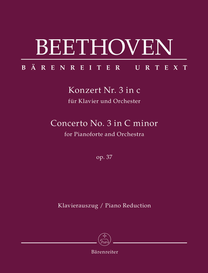 View larger image of Concerto for Pianoforte and Orchestra no.3 in C minor op.37 - (Beethoven)