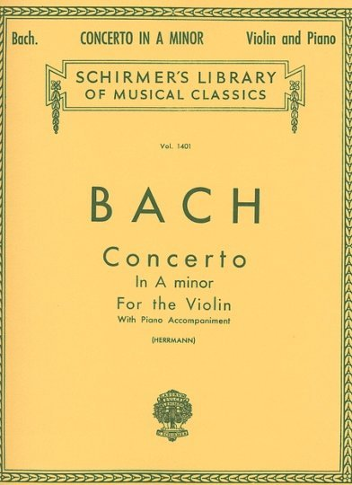 View larger image of Concerto in A Minor (Bach) - Violin/Piano