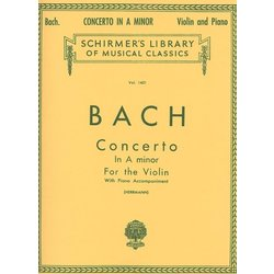 Concerto in A Minor (Bach) - Violin/Piano