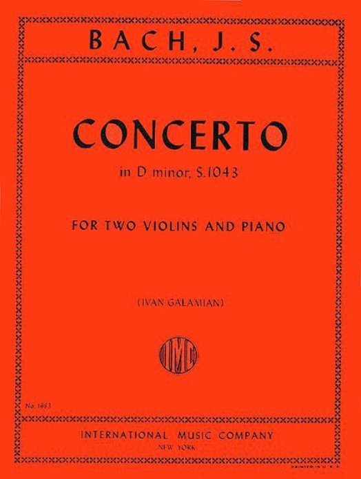 View larger image of Concerto in D Minor S. 1043 (Bach) - Two Violins and Piano