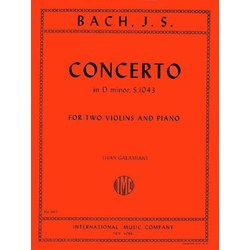 Concerto in D Minor S. 1043 (Bach) - Two Violins and Piano