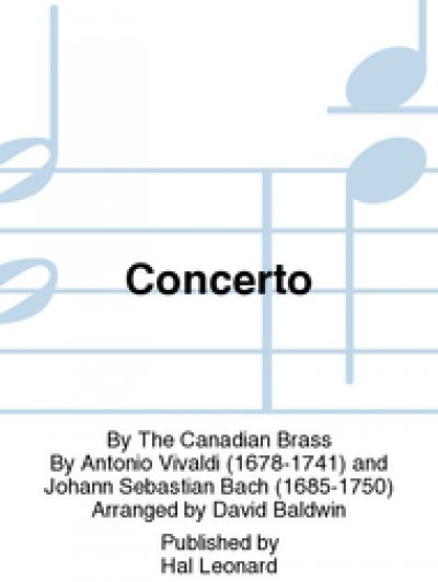 View larger image of Concerto - (Vivaldi/Bach) - The Canadian Brass (Brass Quintet)