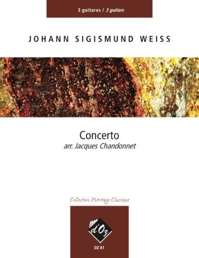 View larger image of Concerto (Weiss) - Guitar Trio