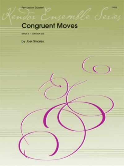 View larger image of Congruent Moves - Percussion Quartet