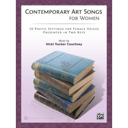 Contemporary Art Songs for Women - Voice/Piano