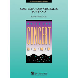 Contemporary Chorales for Band - Score & Parts, Grade 4