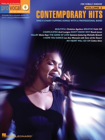 View larger image of Contemporary Hits - Pro Vocal Women's Edition Volume 3