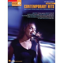 Contemporary Hits - Pro Vocal Women's Edition Volume 3
