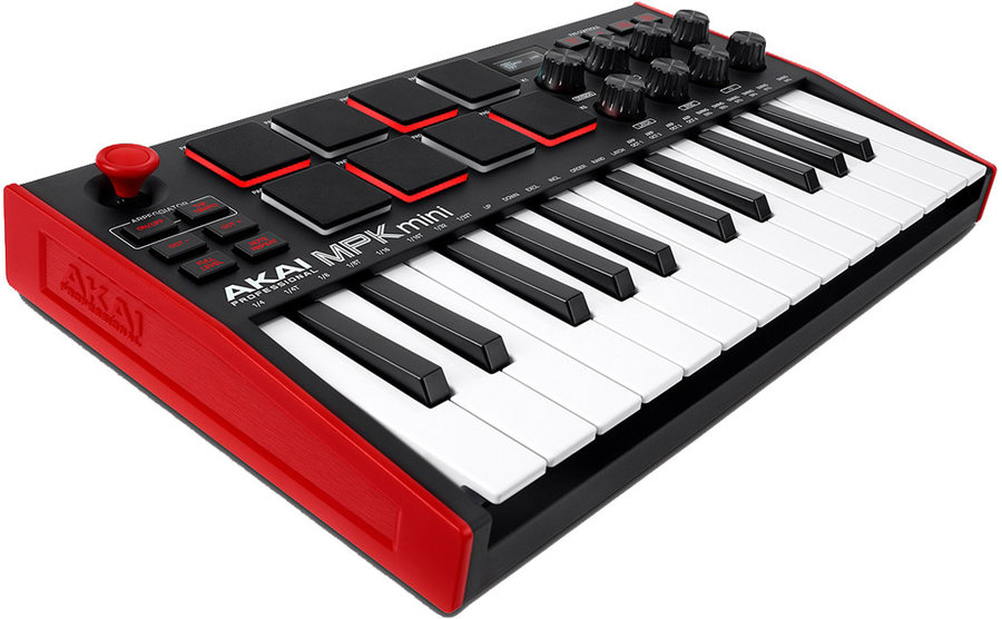 View larger image of Akai MPK Mini MK3 Controller - Red