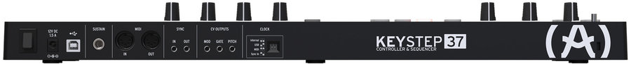View larger image of Arturia KeyStep 37-Note Controller - Black