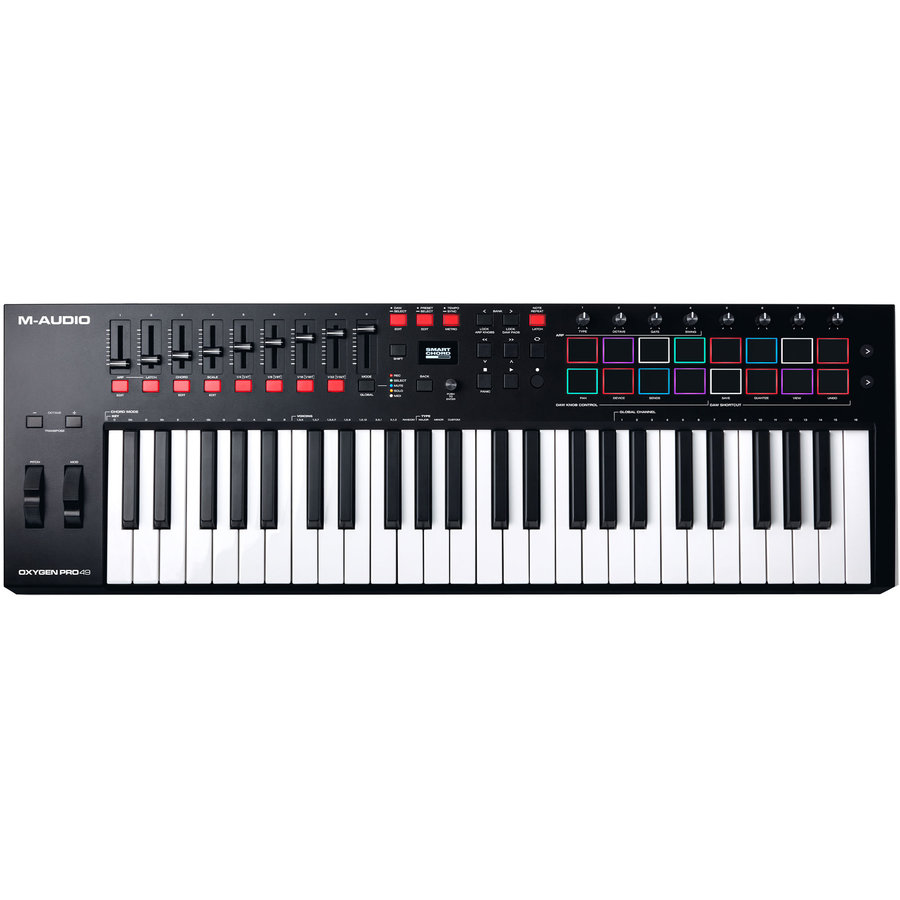 View larger image of M-Audio Oxygen Pro 49 Keyboard Controller