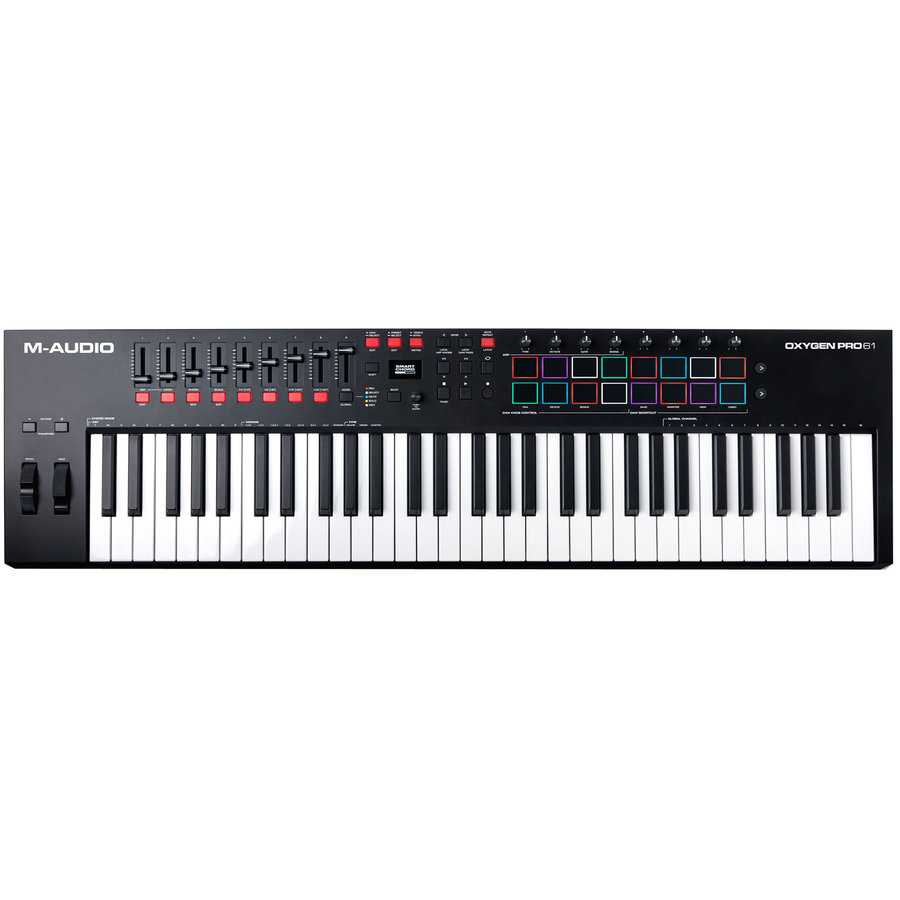 View larger image of M-Audio Oxygen Pro 61 Keyboard Controller