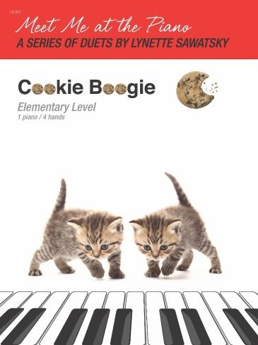 View larger image of Cookie Boogie - Piano Duet (1P4H)