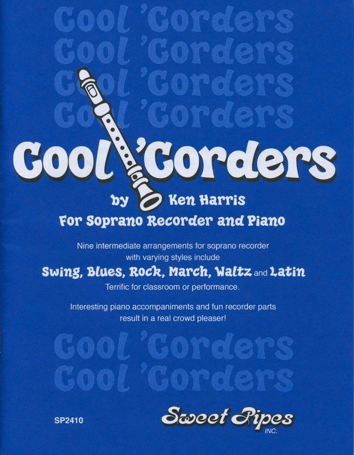 View larger image of Cool 'Corders - Soprano Recorder and Piano Book/CD