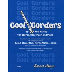 Cool 'Corders - Soprano Recorder and Piano Book/CD