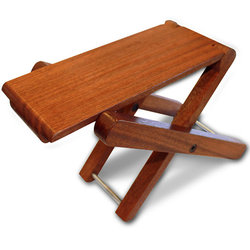 Cordoba Folding Wood Footstool