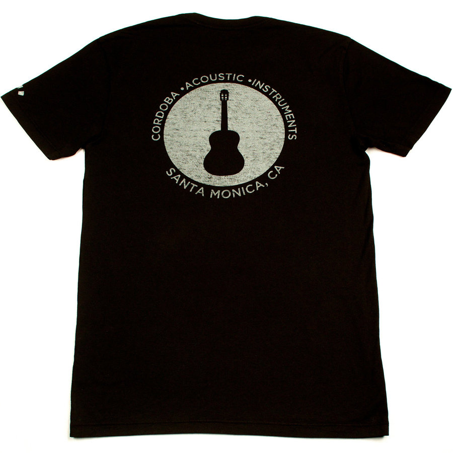 View larger image of Cordoba Soundhole T-Shirt - Black, Small