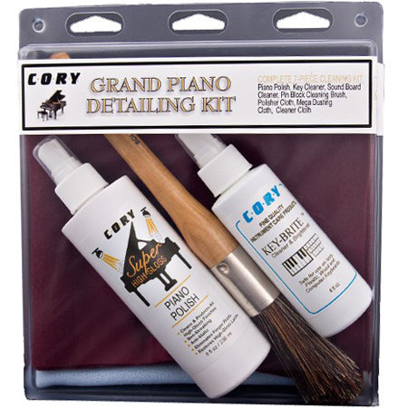 View larger image of Cory Grand Piano Detailing Kit for Satin Pianos
