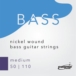 Cosmo Bass Guitar String Pack - Medium, 50-110
