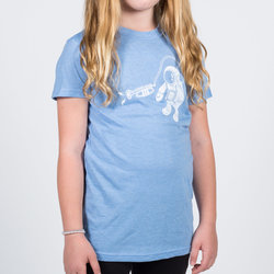 Cosmo Cosmonaut T-Shirt - Blue, Children's Small