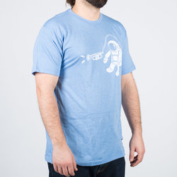Cosmo Cosmonaut T-Shirt - Blue, Men's Medium