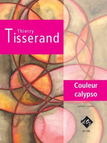View larger image of Couleur Calypso (Tisserand) - Guitar Quartet