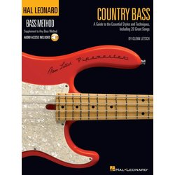 Country Bass (Hal Leonard Bass Method) w/Online Audio