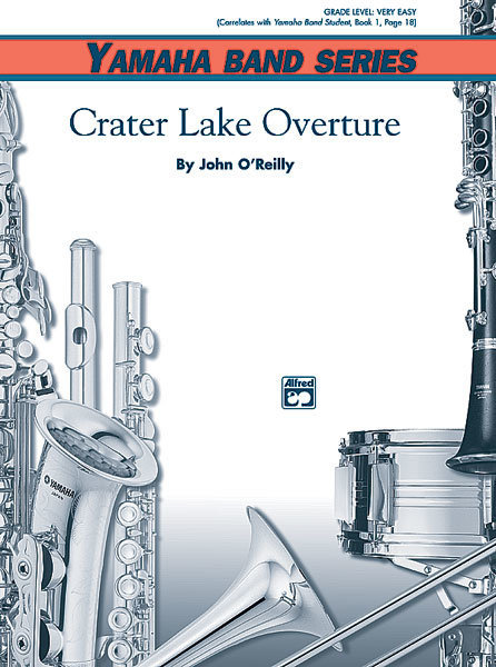 View larger image of Crater Lake Overture - Score & Parts, Grade 1