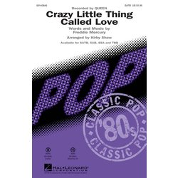 Crazy Little Thing Called Love (Queen), SATB, Parts