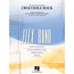 Crocodile Rock (Elton John) - Score & Parts, Grade 2-3