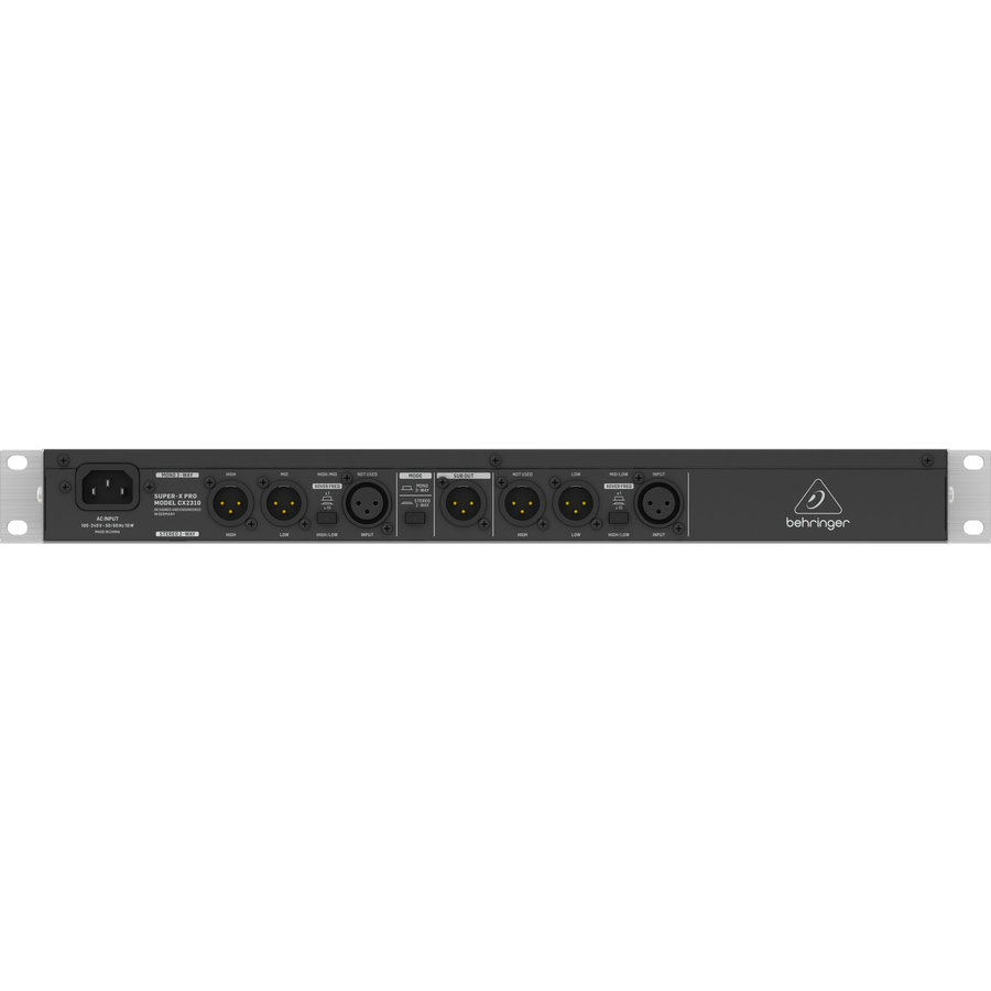 View larger image of Behringer CX2310 V2 High-Precision Stereo 2-Way/Mono 3-Way Crossover