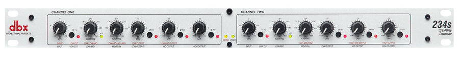 """View larger image of Crossover DBX 234S 1/4"""" TRS Balanced"""
