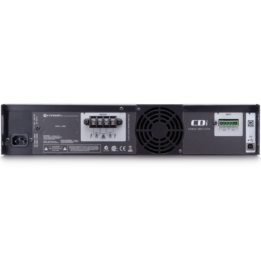 View larger image of Crown CDi 2000 Power Amp