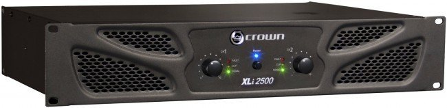 View larger image of Crown XLi 2500 Power Amp
