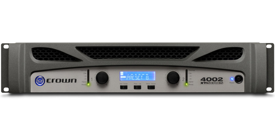 View larger image of Crown XTi 4002 Power Amplifier
