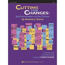 Cutting the Changes - C Bass Clef w/CD & CD Rom