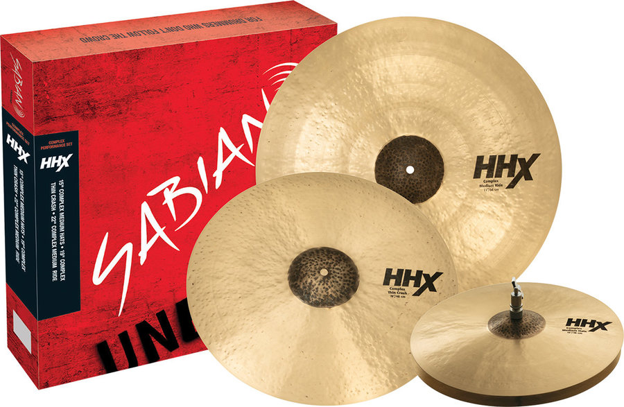 View larger image of Sabian HHX Complex Performance Set