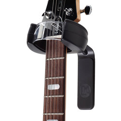 D&A HEADLOCK Active Guitar Wall Hanger - Black