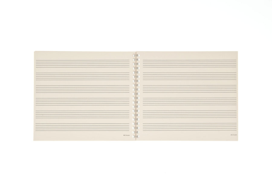 View larger image of D'Addario Archives Spiral Bound Manuscript Book - 6 Stave, 64 Page